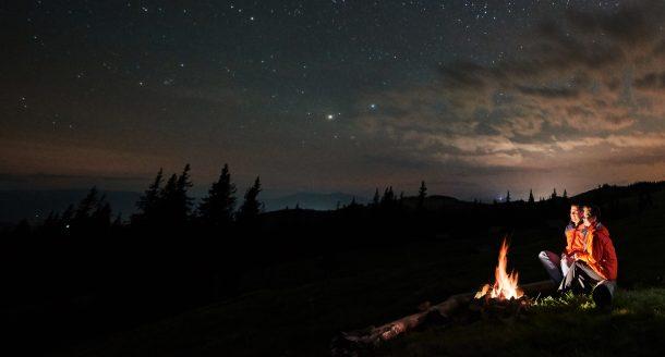 Dormir à la belle étoile, nos bons plans les plus originaux