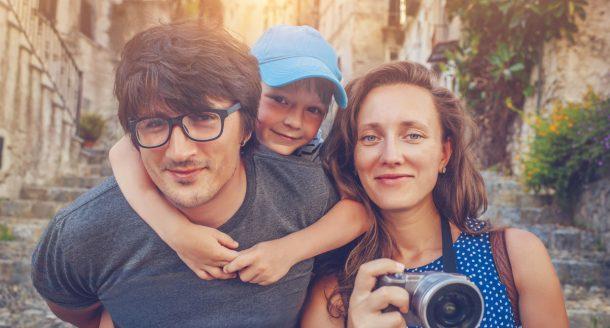 C'est décidé: ces vacances, on les passe en famille!