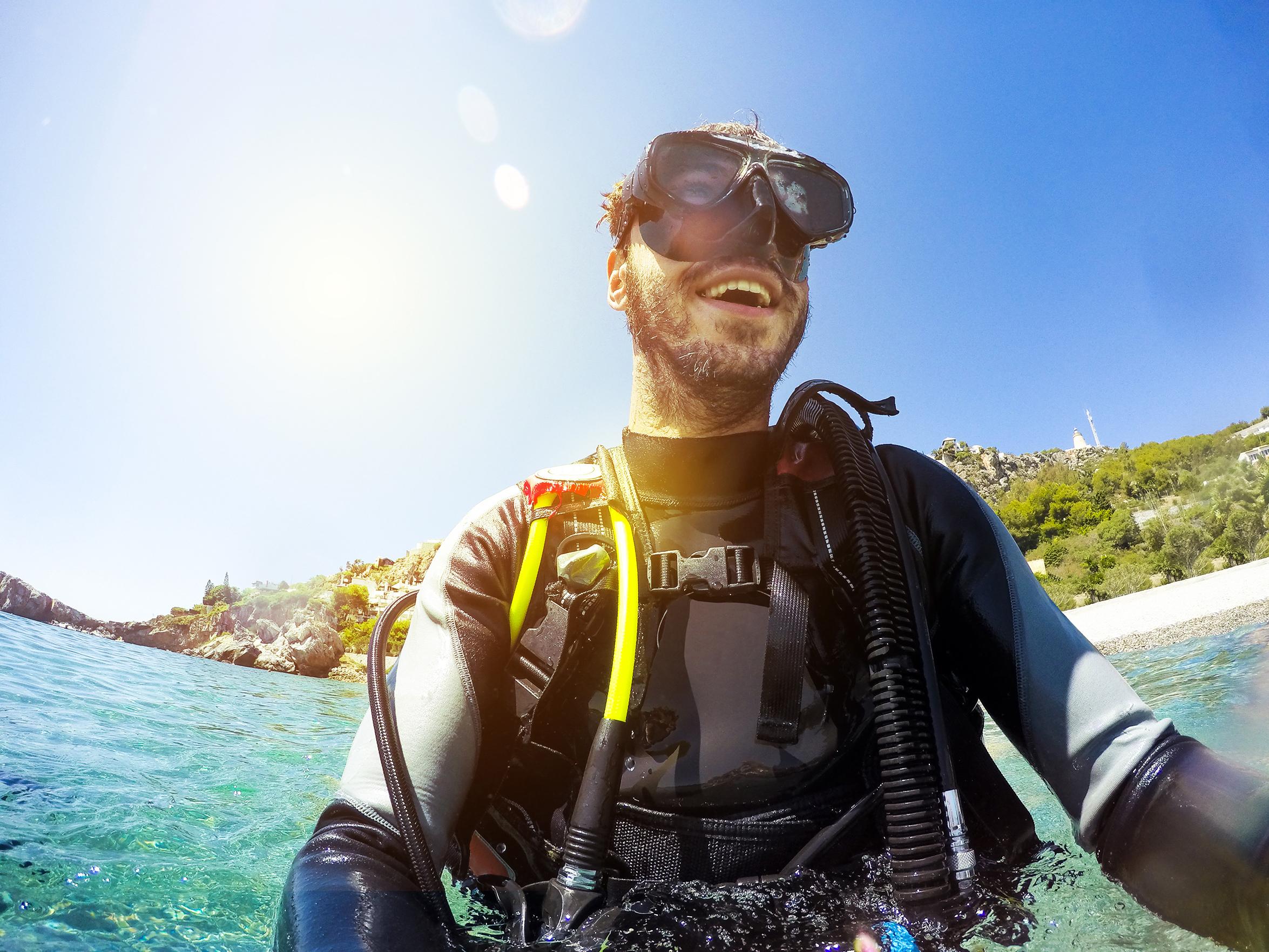 Tester la plongée sous-marine