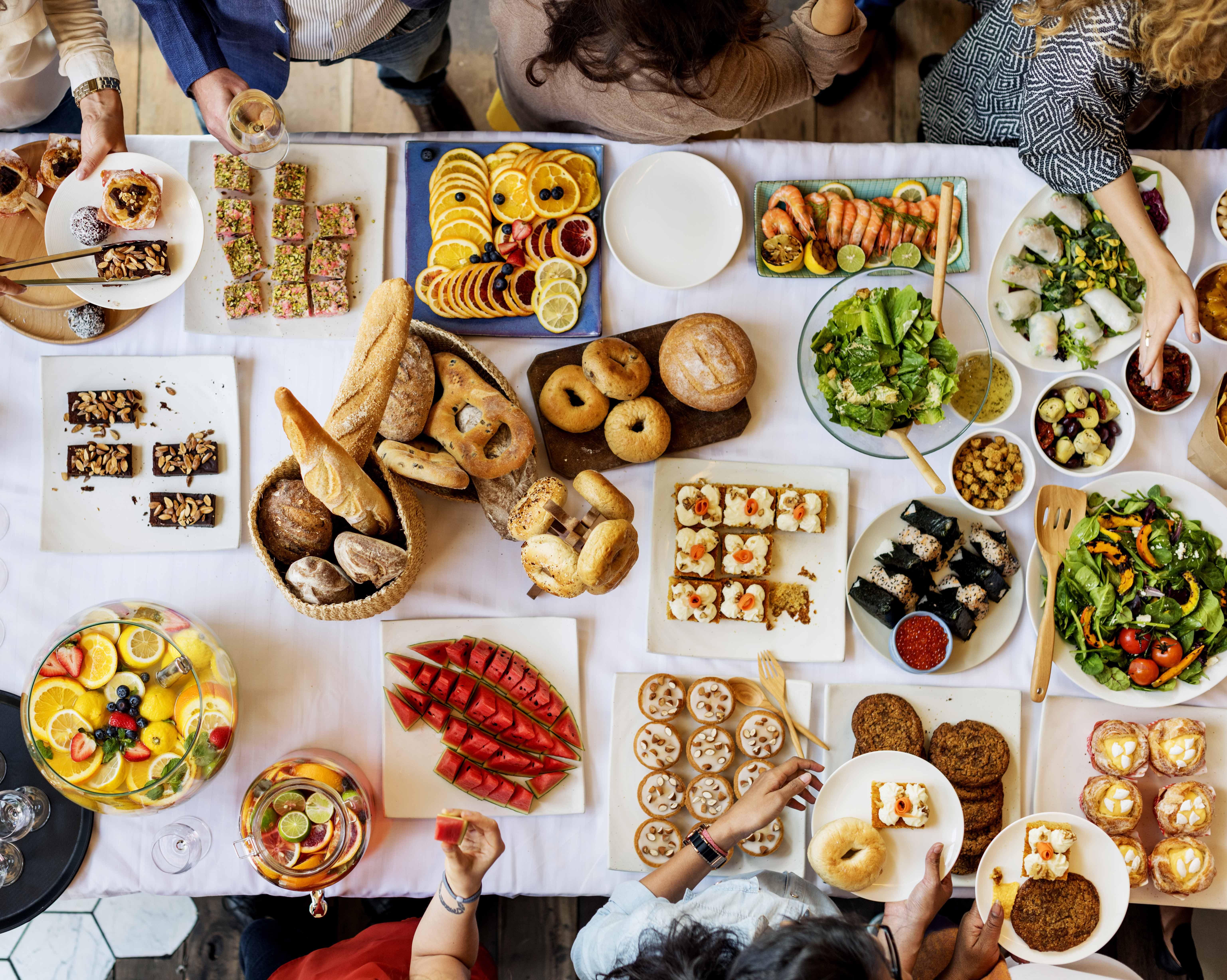 la cuisine européenne à l'honneur