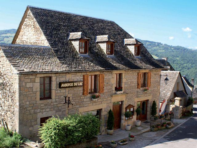 Auberge du Lac Mandailles Aveyron