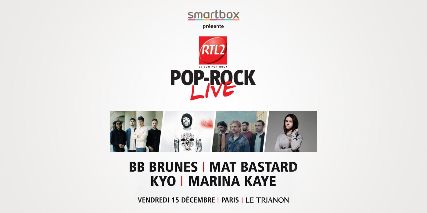 concert Smartbox et RTL2