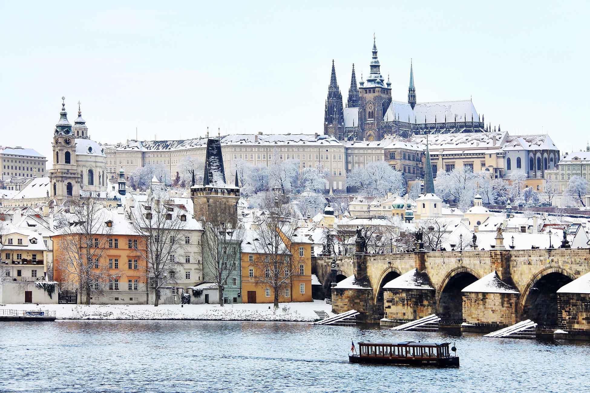 Week-end à Prague en hiver