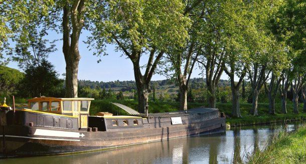 Zoom sur le canal du Midi, site classé au patrimoine mondial de l'Unesco