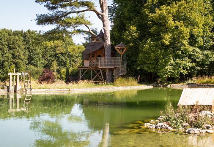 Cabane dans les arbres Châteaux de la Loire