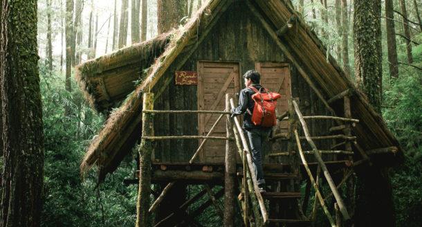 Passer un week-end insolite dans une cabane dans les arbres : un rêve d'enfant !