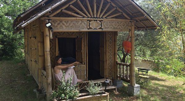 """Quand Julie du blog """"HappyCulture et Vous"""" passe un week-end insolite dans une cabane"""