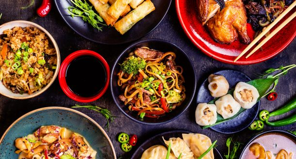 Les plats asiatiques dont raffolent les français