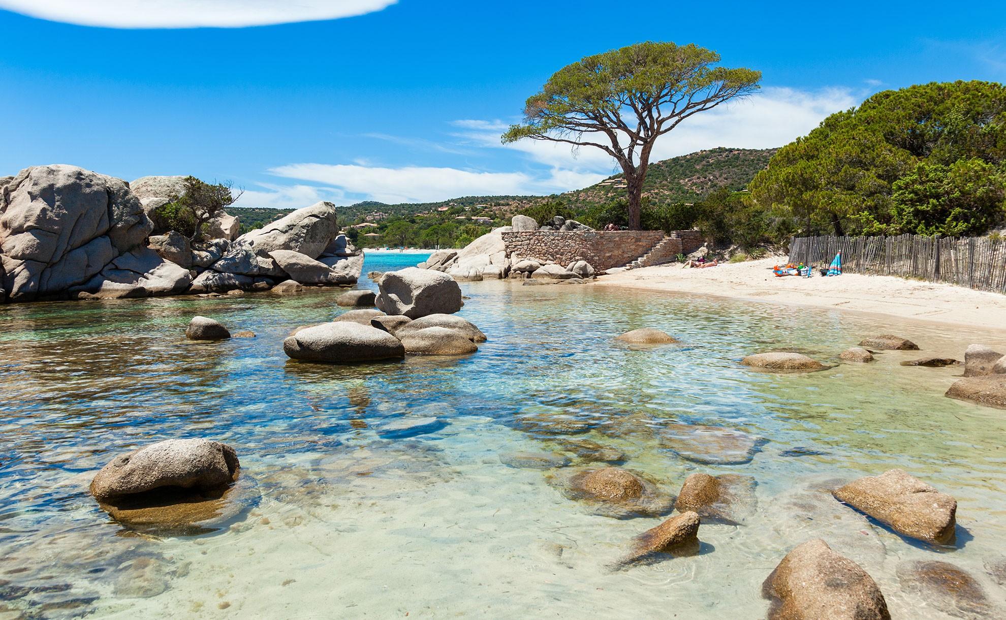 Plus belles plage de France : Palombaggia, Corse