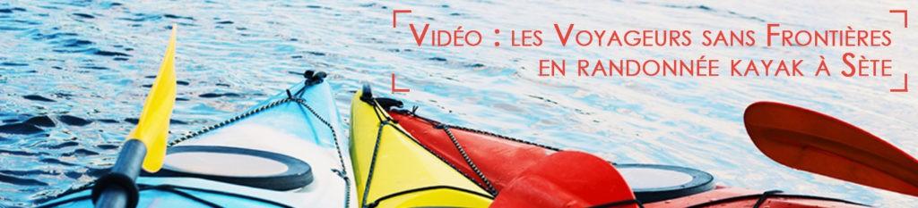 Vidéo kayak à Sète