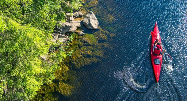 Petite sélection des meilleurs endroits où faire du canoë en France