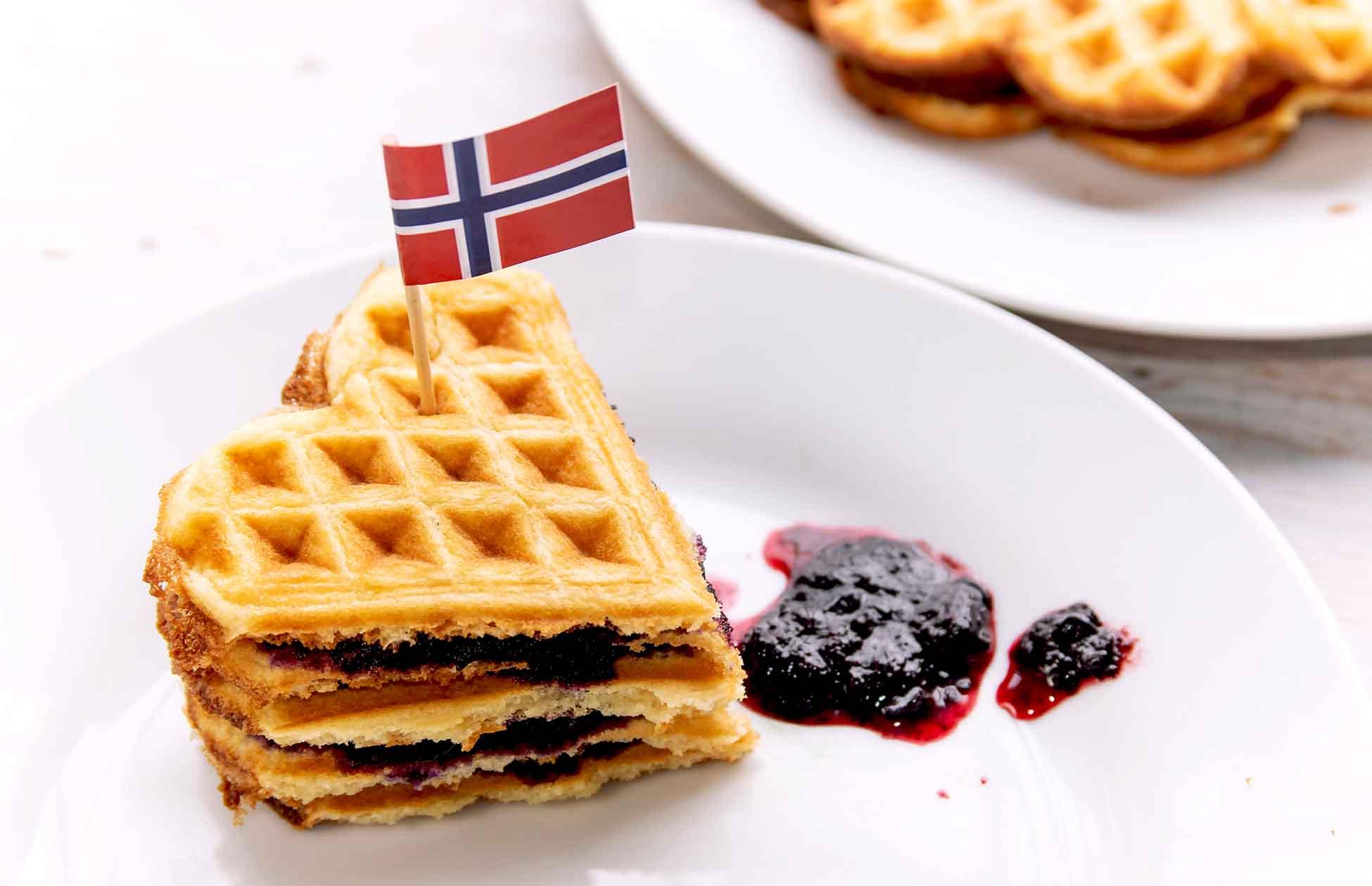 gaufres norvégiennes