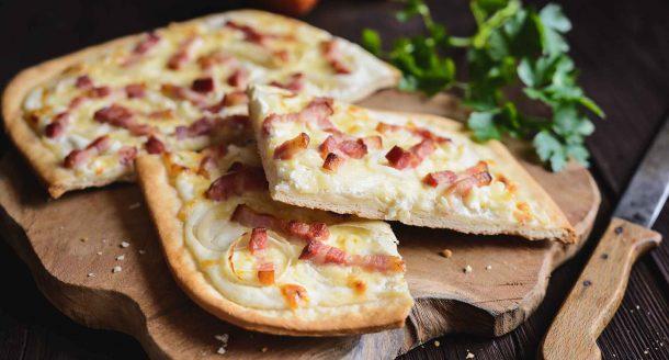 Alsace & Flammekueche… Origine et recette de flammekueche