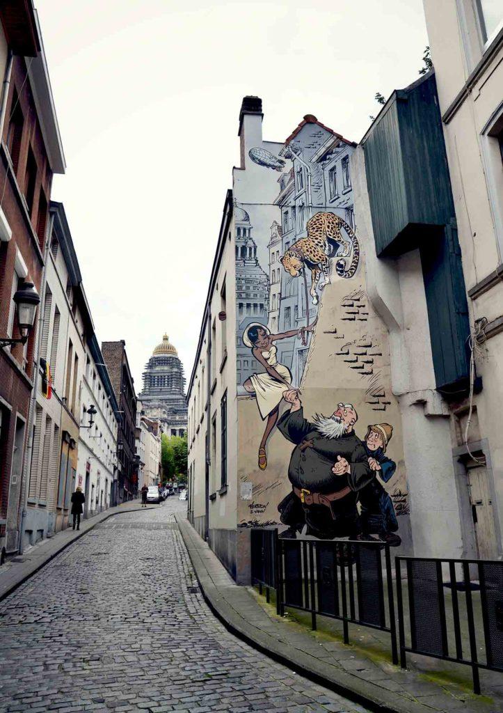 Fresques BD Bruxelles