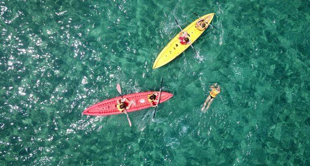 Les meilleurs endroits où tester le kayak de mer en France