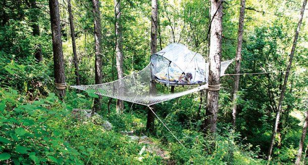 Dormir dans une bulle en France : une chambre bulle pour rêver sous les étoiles