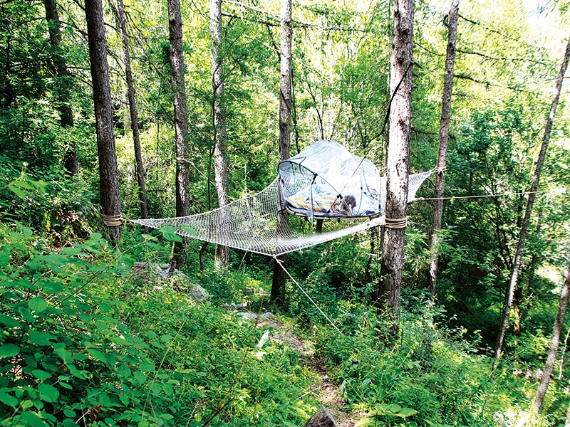 Dormir dans une bulle en France